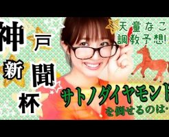 神戸新聞杯 2016 天童なこの調教予想☆【天童なこ動画チャンネル】