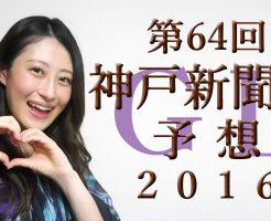 神戸新聞杯 2016 予想(第64回)G2【ヨーコヨソー動画チャンネル】